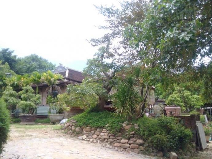  Một trong những công trình đã được xây dựng trên diện tích đất của bà Trương Thị Kim.