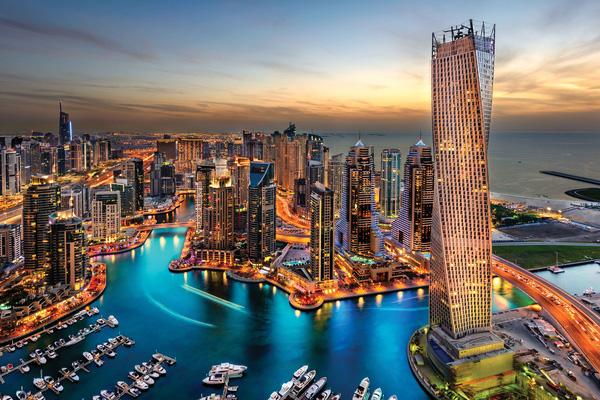 Dubai - miền đất giàu có xa hoa trong mơ của nhiều người.
