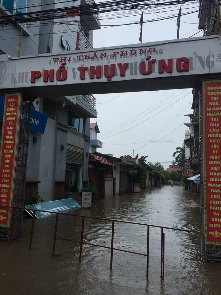 Phố Thụy Ứng, thị trấn Phùng, huyện Đan Phượng