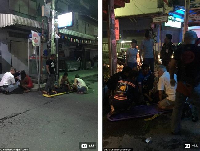 9 trong số 20 người bị thương là các du khách nước ngoài.