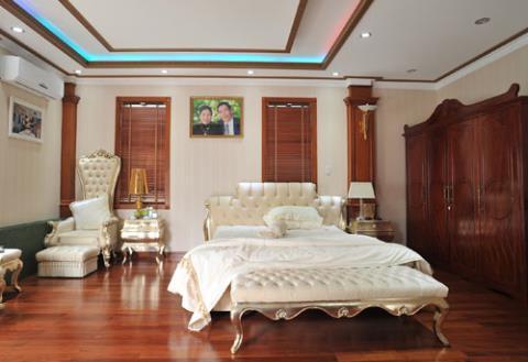 Không gian riêng của bố mẹ chồng ca sĩ Trang Nhung.