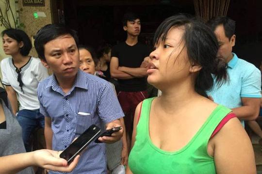 Chị Lê Hồng Nhung kể lại giây phút nhà sập