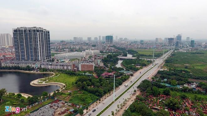 Dự án chung cư phát triển như nấm ở quận Hà Đông