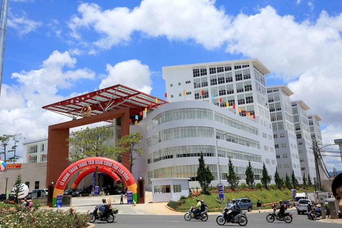 Tòa nhà trung tâm hành chính tỉnh Lâm Đồng - Ảnh: MAI VINH