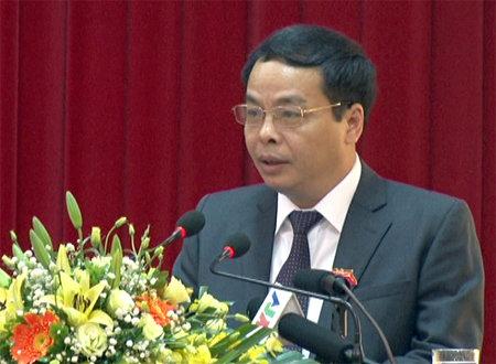 Ông Ngô Ngọc Tuấn - Chủ tịch HĐND tỉnh Yên Bái