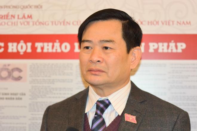 TS.Nguyễn Đình Quyền - Viện trưởng Viện nghiên cứu lập pháp của Quốc hội (Ảnh: Tuấn Nam)