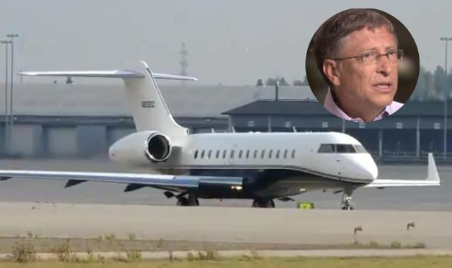 Chiếc máy bay phản lực riêng của ông, Bombadier BD 700 Global Express.