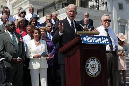 Phó Tổng thống Mỹ đương nhiệm Joe Biden. Ảnh: Reuters