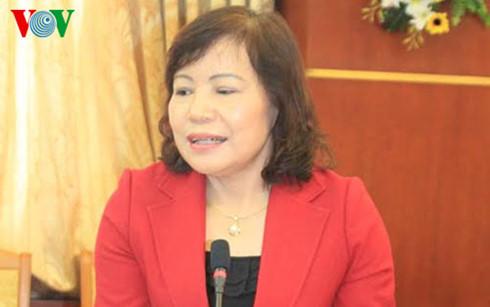 Bà Ngô Thị Hoa, nguyên Chủ tịch huyện Yên Định