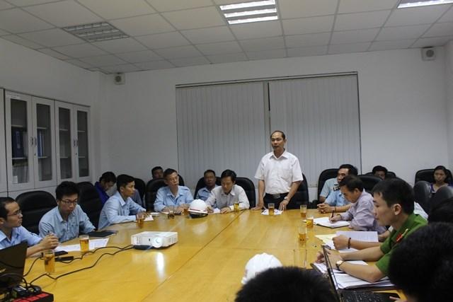 Cuộc làm việc giữa cơ quan chức năng Hà Tĩnh với Formosa chiều 16/9 (ảnh: Trương Hoa)