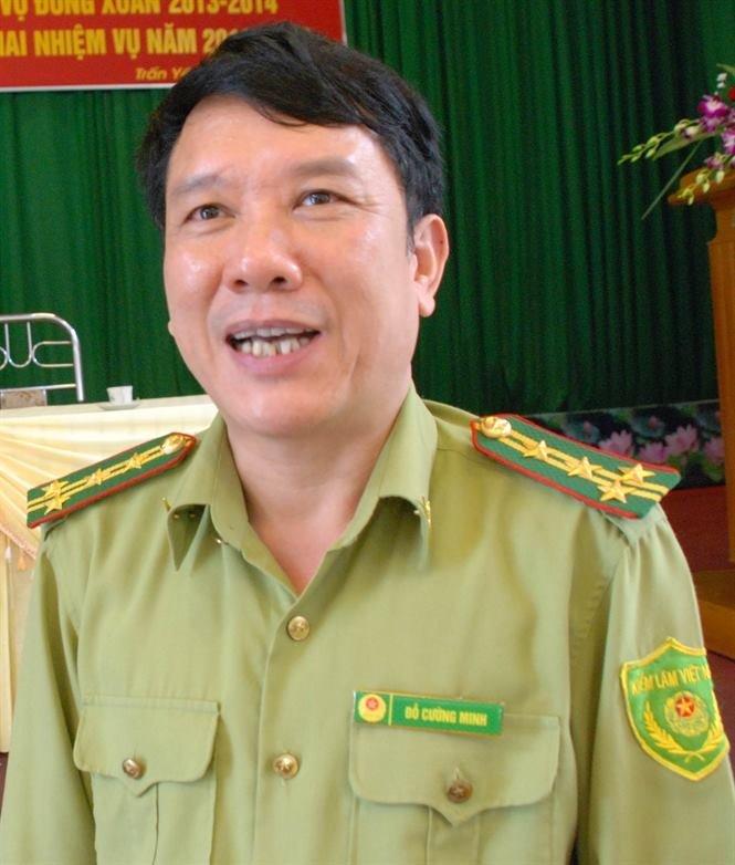 Chi cục trưởng chi cục kiểm lâm tỉnh Yên Bái Đỗ Cường Minh
