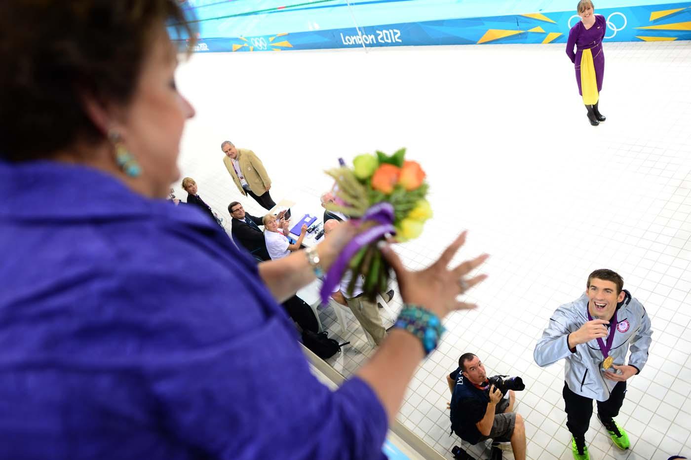 Michael Phelps luôn dành niềm vui chiến thắng đầu tiên cho mẹ của mình.