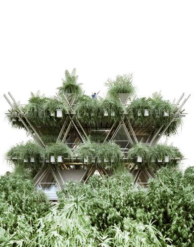 Cây xanh sẽ được trồng khắp mọi nơi mang đến không gian trong lành, mát mẻ.
