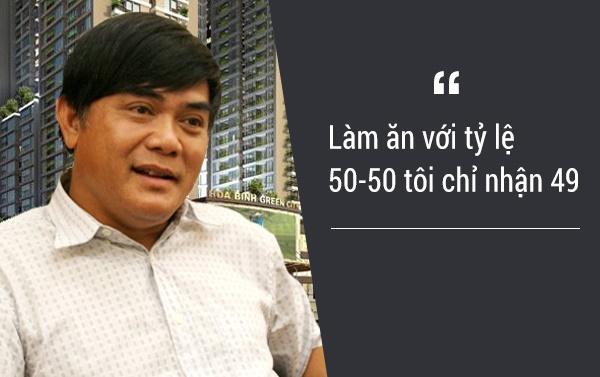 Theo triết lý kinh doanh của đại gia Đường Bia, nếu làm ăn với đối tác tỷ lệ là 50-50 thì ông chỉ nhận về mình 49, khi đối tác nhận hơn phần mình thì sẽ không bao gì xảy ra tranh chấp.