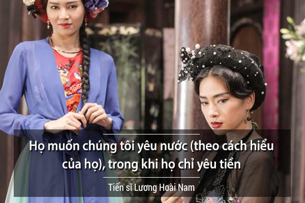 Tiến sĩ Lương Hoài Nam (một facebooker nổi tiếng) bình luận đơn giản về cuộc chiến giữa các nhà phát hành, chủ sở hữu rạp chiếu: Họ chỉ yêu tiền!.