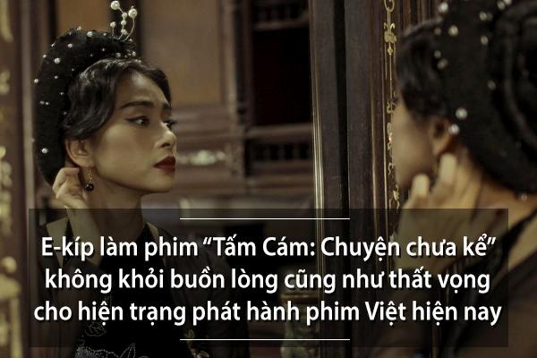 Ngô Thanh Vân than thở về việc bộ phim không được công chiếu trên 40% các rạp cả nước.