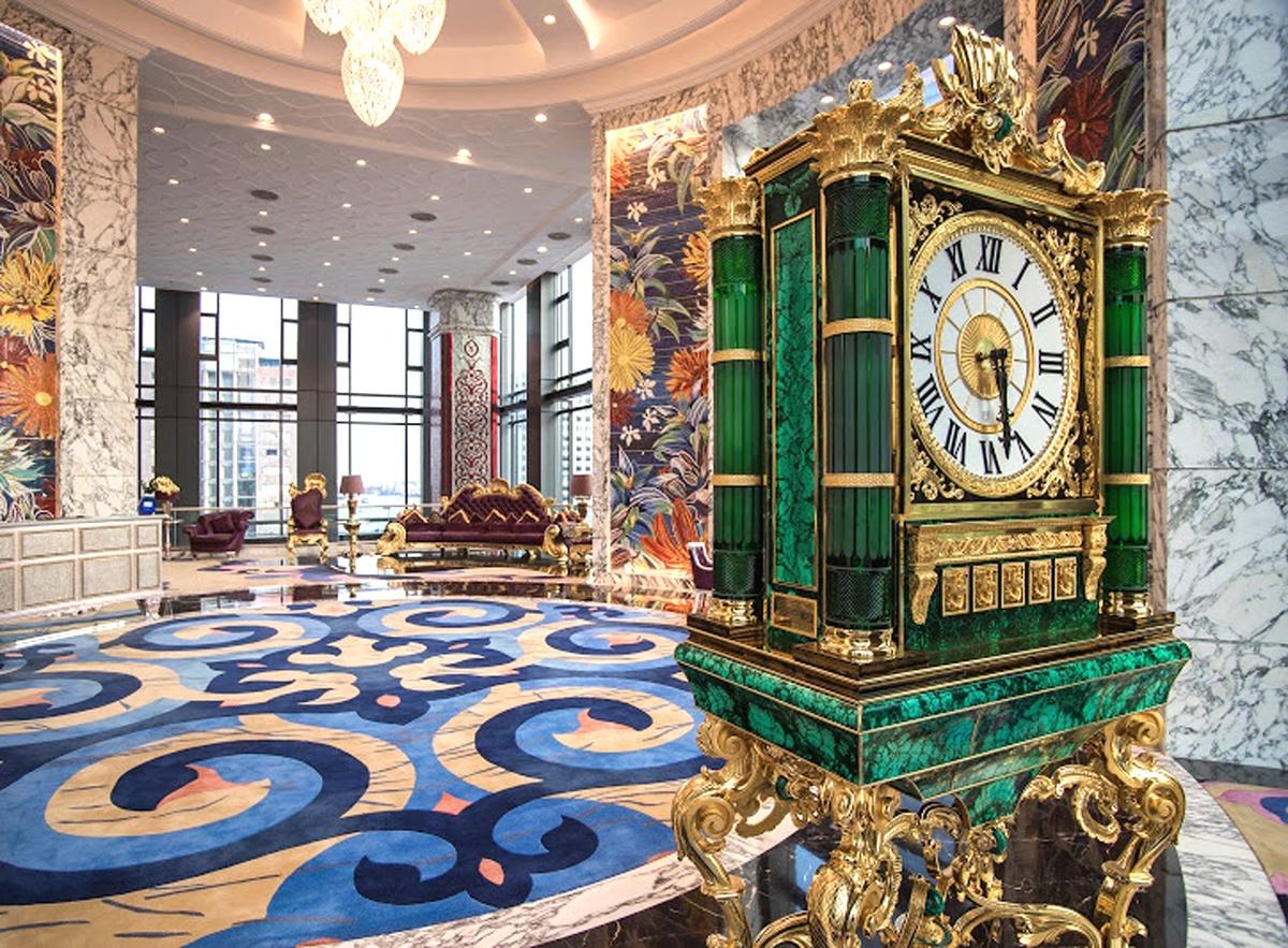 Những hình ảnh trên cho thấy một phần sang trọng của khách sạn 6 sao bên trong Times Square