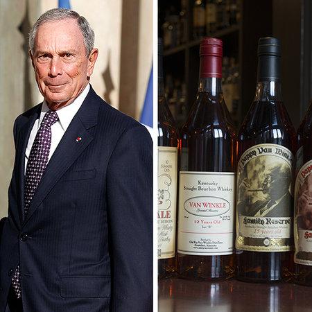 Ông trùm truyền thông Mỹ Michael Bloomberg có sở thích uống rượu Pappy van Winkle. Với số tài sản 38,6 tỷ USD, cựu thị trưởng thành phố New York có thể mời những từng người bỏ phiếu cho ông uống 11 chầu rượu với giá gần 100 USD/ly này.