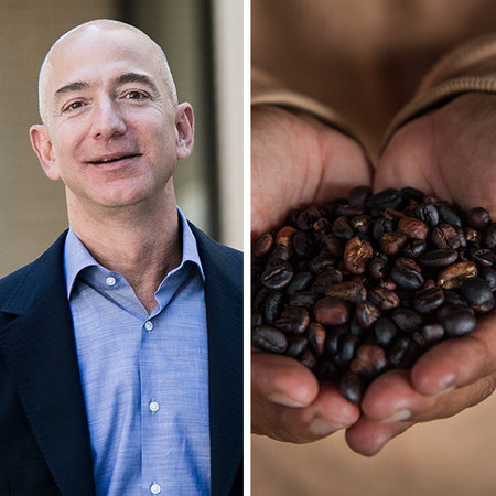 Jedd Bezos, nhà sáng lập Amazon.com, rất ưa thích món cà phê chồn, loại cà phê đắt nhất thế giới với giá 100 USD/cốc. Tuy nhiên, với tài sản 47 tỷ USD, Bezos có thể đổ đầy 46.380 bồn tắm cỡ trung bình với loại cà phê đắt đỏ này.