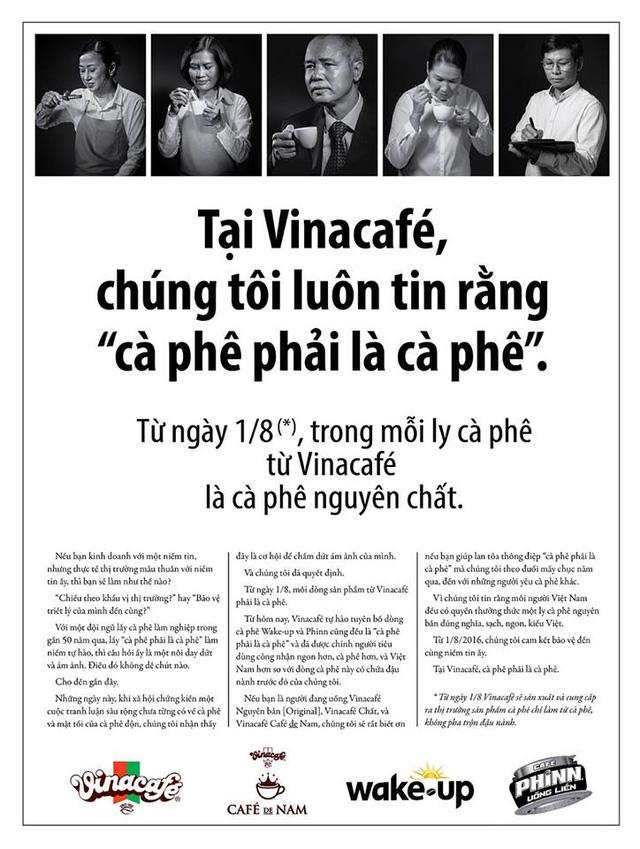 Quảng cáo của Vinacafé
