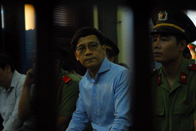 Phan Thành Mai tại tòa ngày 9/9. Bị cáo đang đối diện mức án 24-26 năm tù theo đề nghị của VKS