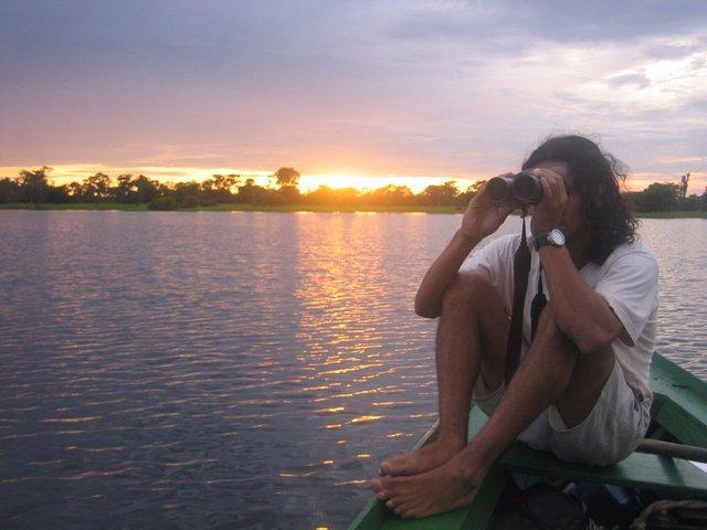 Sông Amazon có vô vàn các loại động vật hoang dã nhưng khung cảnh trông thật yên bình.