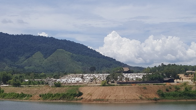 Một phần nhỏ diện tích của dự án được đầu tư xây dựng các hạng mục công trình.