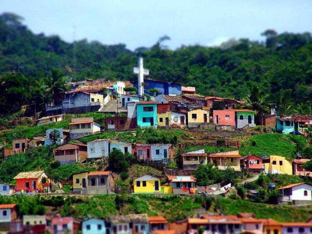Ngay cả các khu ổ chuột ở Rio cũng có nét độc đáo riêng.