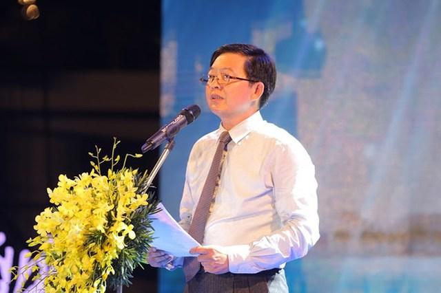 Ông Hồ Quốc Dũng – Chủ tịch UBND tỉnh Bình Định phát biểu tại Lễ khánh thành.