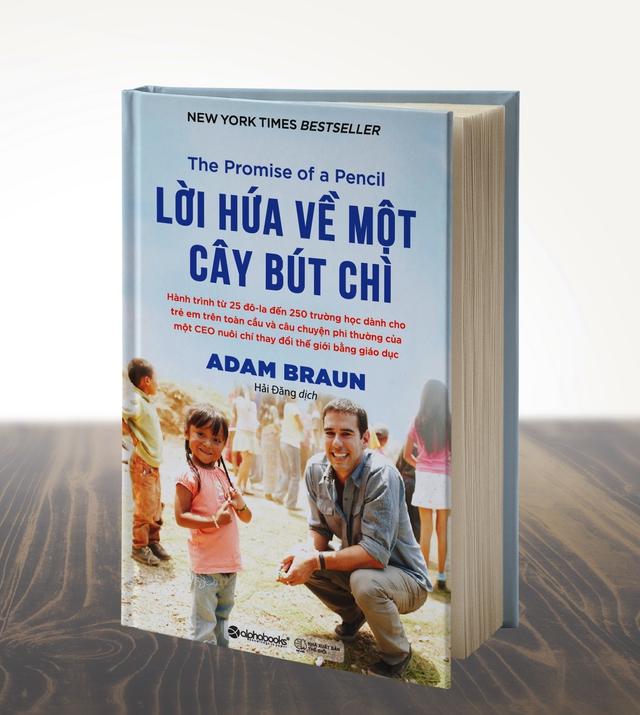 Cuốn sách viết về câu chuyện của một CEO nuôi chí thay đổi thế giới bằng giáo dục.