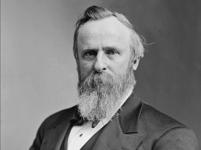6. Rutherford Birchard Hayes là một nhà chính trị, luật sự, nhà lãnh đạo quân sự Hoa Kỳ và là tổng thống thứ 19 của Hoa Kỳ (1877–1881). Hayes tốt nghiệp Harvard năm 1845, làm việc như một luật sư ở Ohio và tăng đến cấp bậc thiếu tướng trong cuộc nội chiến. Trong cuộc đời, ông luôn ủng hộ quyền lợi của người Mỹ gốc Phi.