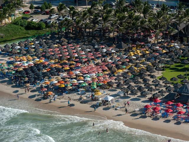 Fortaleza, một thành phố ven biển khác của Brazil, cũng được biết đến với những bãi biển tuyệt vời.