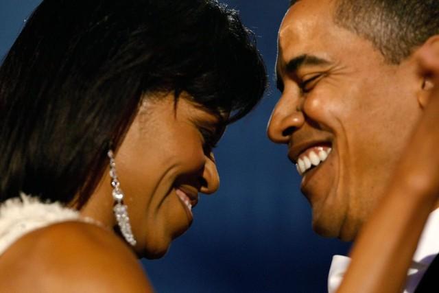 Barack Obama và Michelle Obama tham dự Tiệc nhậm chức Neighborhood tại Trung tâm Hội nghị Washington, Washington DC, ngày 20 tháng 1 năm 2009.
