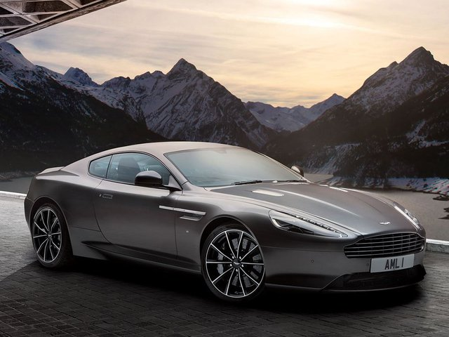 Chiếc DB9 Aston Marin.