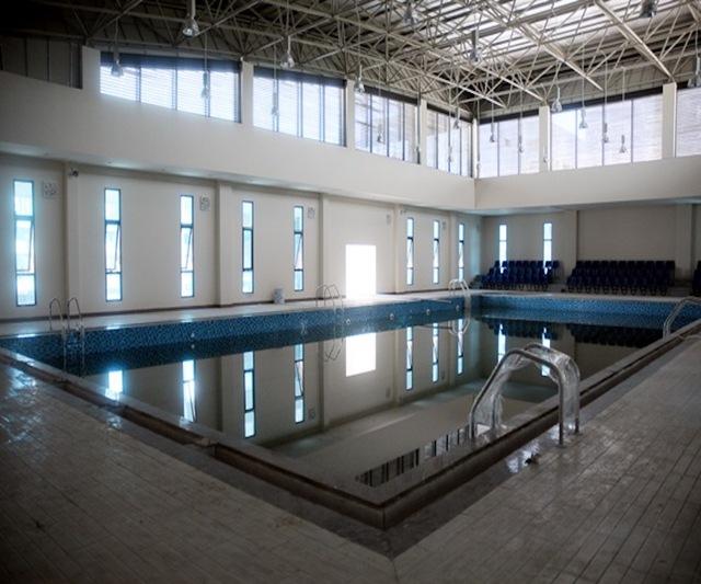 Khu hồ bơi tiêu chuẩn quốc gia.