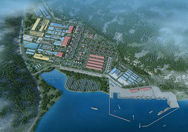 Phối cảnh dự án thép Hoa Sen - Cà Ná
