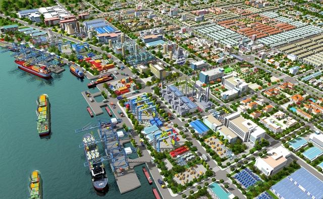 Khu vực Cảng Sài Gòn này sau khi di dời vào cuối năm nay sẽ trở thành một khu đô thị siêu hiện đại, án ngữ ngay cửa vào quận 4.