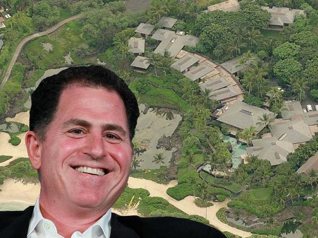 'Gia đình Dell thường xuyên đi nghỉ tại Raptor Residence. Đây là dinh thự 7 phòng ngủ có diện tích hơn 1.700m2 nằm trên khu đất rộng 1,7 hecta tại thiên đường nhiệt đới trước biển ở Kukio, Hawaii. Giá của nó là khoảng 73 triệu USD.'