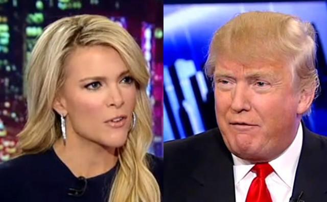 Megyn Kelly là một trong các nữ phóng viên khiến tỉ phú Donald Trump bị nhiều phen cứng họng - Ảnh: rippdemup