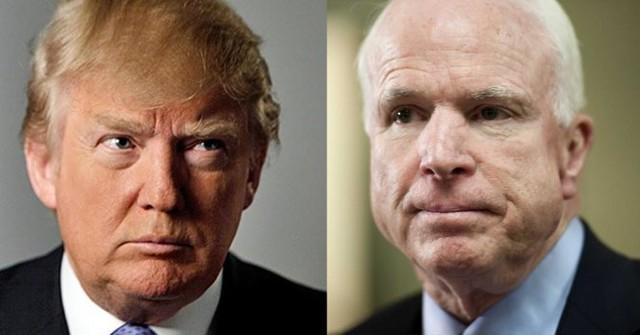 """Donald Trump nói rằng Thượng nghị sĩ John McCain """"chẳng phải là anh hùng thời chiến gì - Ảnh: conservativetribune"""