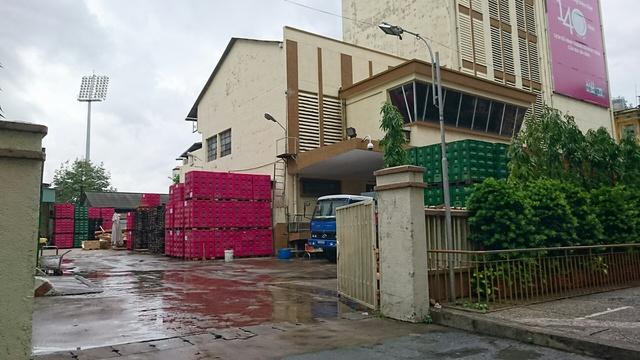 Khu đất 474 Nguyễn Chí Thanh, quận 5 đang được sử dụng làm nhà kho