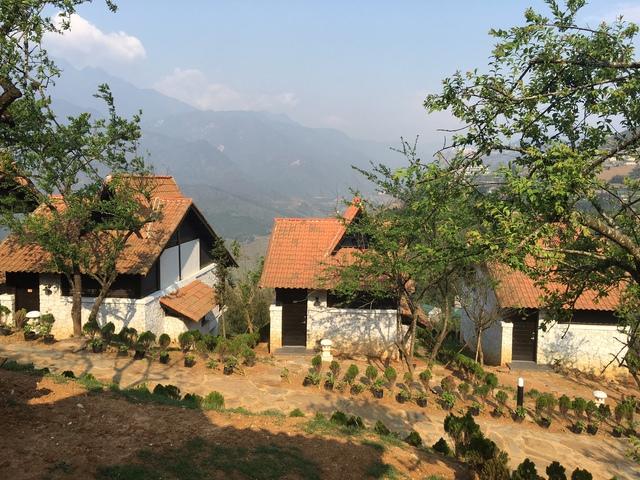 Một resort 4 sao nhìn xuống thung lũng Mường Hoa (Sa Pa)