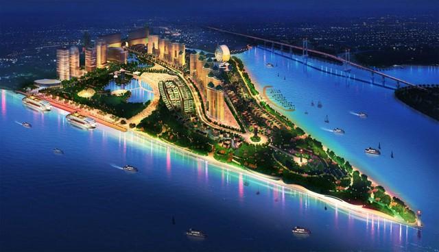 Phối cảnh dự án Saigon Peninsula