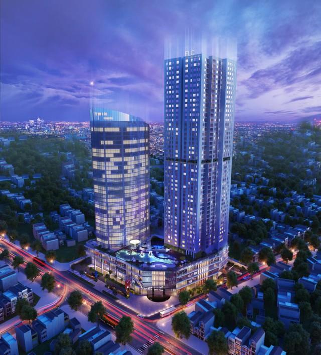 FLC Twin Towers với 4 tầng hầm gửi xe thông minh, là một trong những dự án chiến lược của FLC Group.