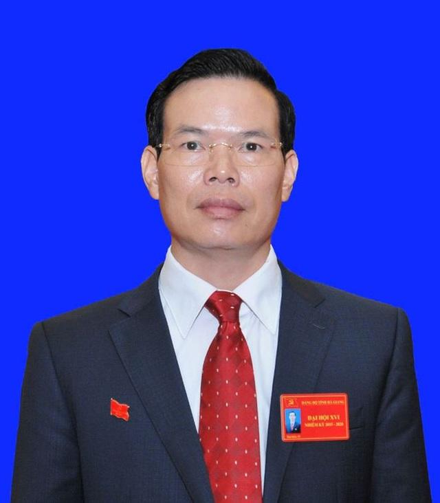Bí thư Tỉnh ủy Hà Giang Triệu Tài Vinh. Ảnh: Báo Hà Giang.