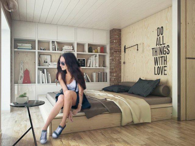 Ngôi nhà 35m2 đẹp như mơ của cô nàng độc thân - Ảnh 12.