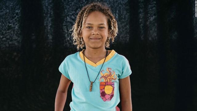 Bé Levi Draheim, 9 tuổi, một trong số 21 trẻ em, đã kiện Tổng thống Obama và chính quyền Mỹ vì biến đổi khí hậu - Ảnh: CNN