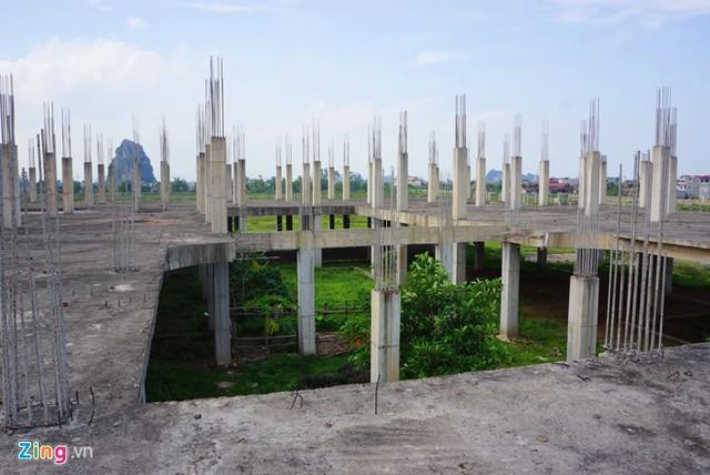 Khu nhà chức năng thuộc dự án đại học Hoa Lư Ninh Bình