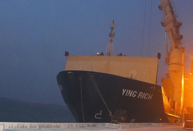 Ngày mai 17/9, Formosa sẽ trình bày hồ sơ pháp lý về lô hàng được chở trên tàu Yinh Rich (ảnh: Trương Hoa)