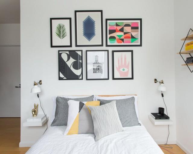 Từng góc nhỏ của căn hộ đều được chau chuốt và ăn khớp với bức tranh tổng thể.